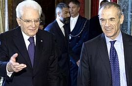 Mattarella e Cottarelli