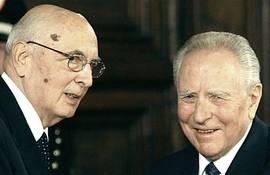 Napolitano e Ciampi