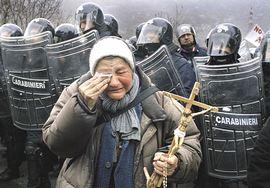 Lacrime, nella valle di Susa militarizzata