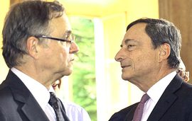 Visco e Draghi