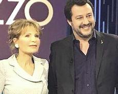 Gruber e Salvini