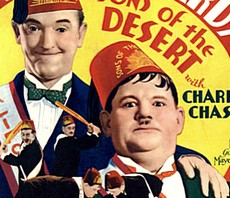 I massoni Stan Laurel e Oliver Hardy