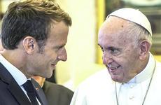 Macron dal Papa
