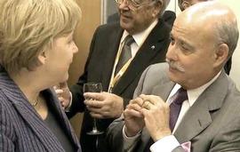Rifkin con la Merkel