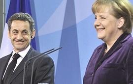 Sarkozy e Merkel