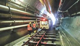 Il cantiere del mini-tunnel esplorativo di Chiomonte