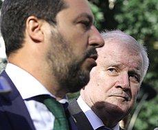 Salvini e il collega tedesco Seehofer