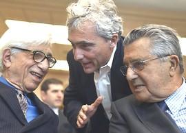 Tito Boeri tra Franco Debenedetti e Carlo De Benedetti