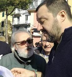 Becchi con Salvini