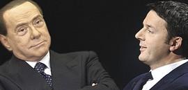 Berlusconi e Renzi
