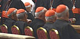 Cardinali: accusati di aver coperto i reati