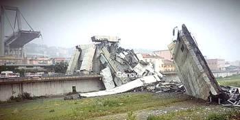 Il crollo del viadotto Morandi a Genova