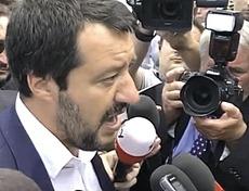 Salvini sul disastro di Genova