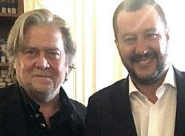 Bannon con Salvini
