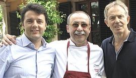Blair con Renzi
