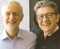 Corbyn e Mélenchon