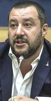Il leader leghista Matteo Salvini