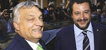 Orban e Salvini