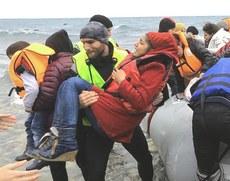 Sbarco di rifugiati siriani