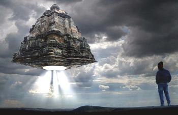 Viman in forma di pagoda, ricostruzione basata sui Veda