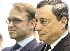 Weidmann e Draghi