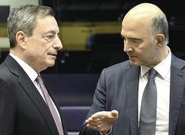Draghi e Moscovici