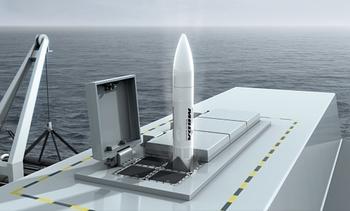 Missile navale