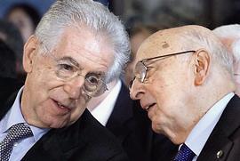 Monti e Napolitano