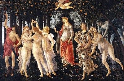 Botticelli, La Primavera (Uffizi)