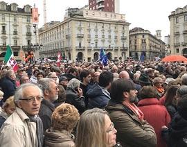 La manifestazione Sì Tav a Torino