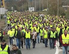 La marcia dei Gilet Gialli