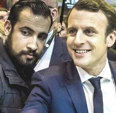 Macron e Benalla
