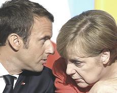 Macron e Merkel