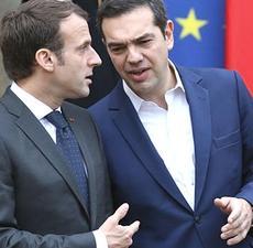 Macron e Tsipras