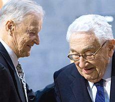 Brzezinski e Kissinger