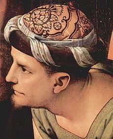 Giuseppe d'Arimatea raffigurato da Pietro Perugino