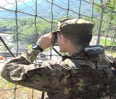Il cantiere militarizzato di Chiomonte