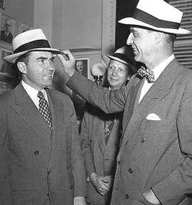 Prescott Bush con Nixon