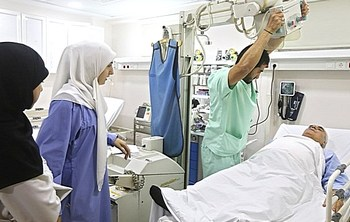Un ospedale di Hezbollah
