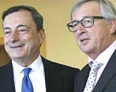 Draghi e Juncker