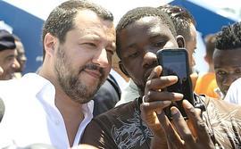 Salvini e i migranti