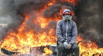 Caracas, rivolta di strada