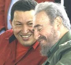 Chavez con Castro