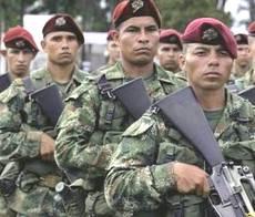 Esercito colombiano