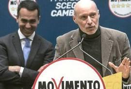 Gregorio De Falco con Di Maio