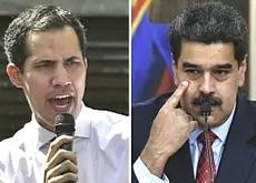 Guaidò e Maduro