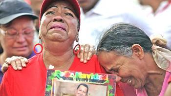 Il dolore del Venezuela per la morte di Chavez