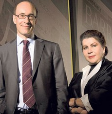 Ken Rogoff e Carmen Reinhart