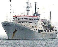 La nave russa Admiral Vladimirsky