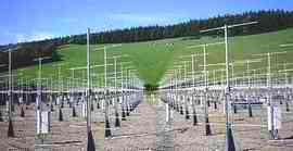 L'impianto di Capel Dewi nel Carmarthenshire in Galles